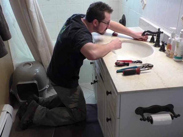 Sink Fixture Repair