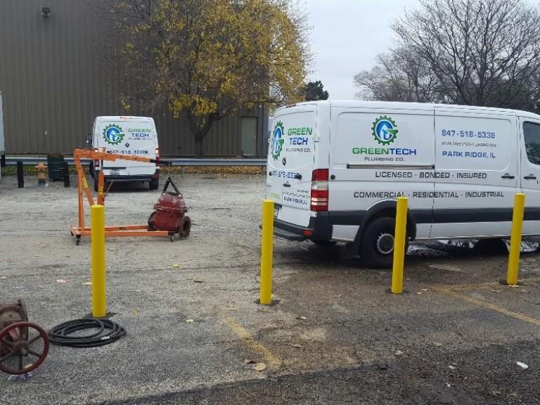 Plumbing Trucks