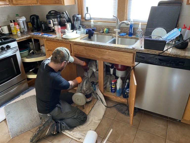 Beast Rodding a Kitchen Sink