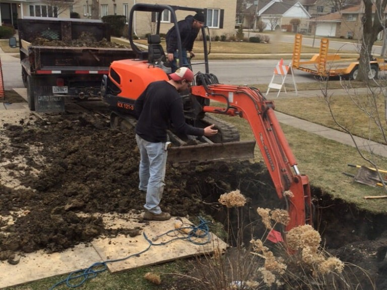 Digging For The Sewer