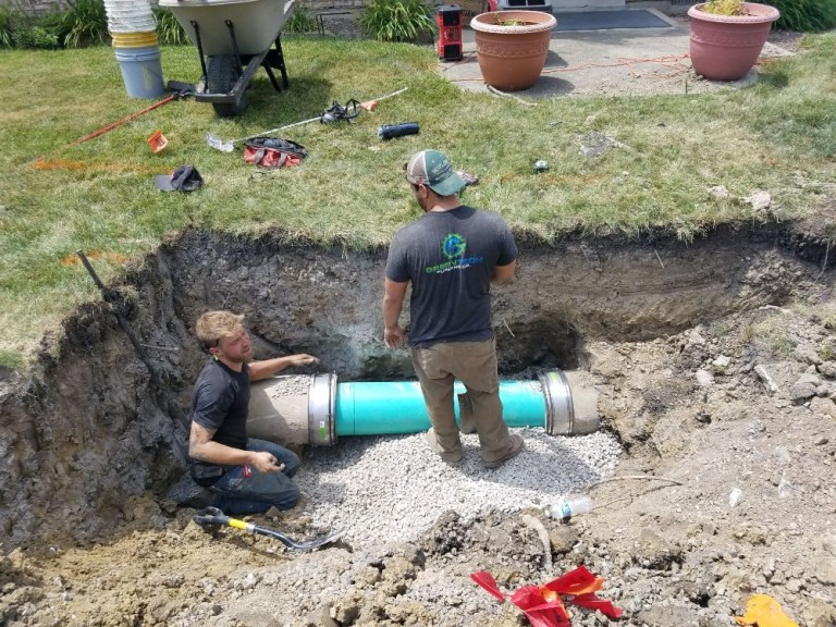 Storm Pipe Replacement