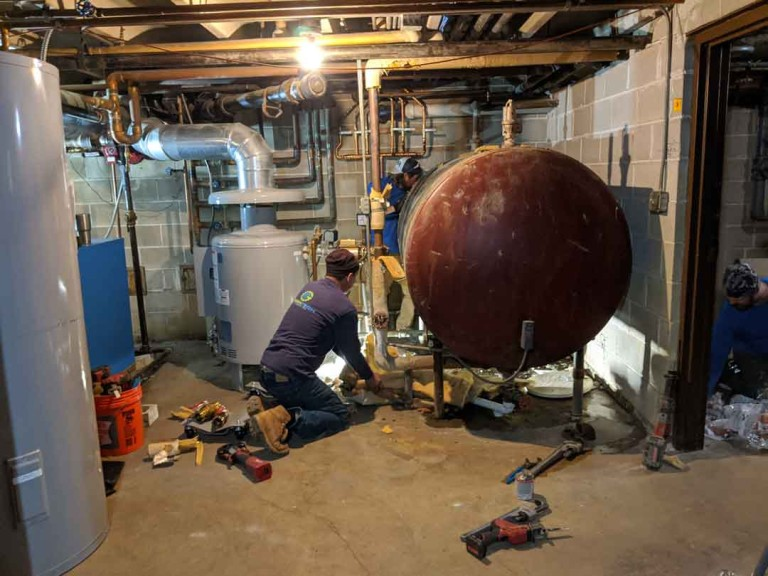 Hot Water Storage Tank Replacement